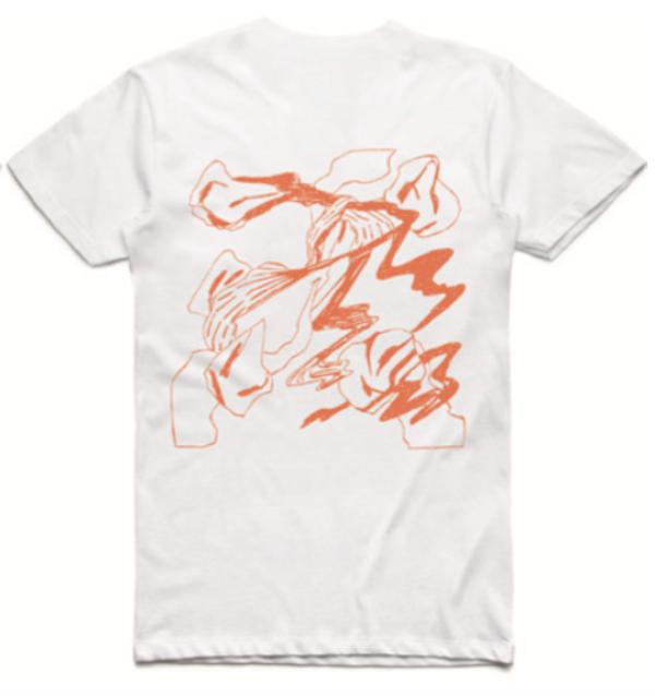 White EP T-Shirt - murmurmur