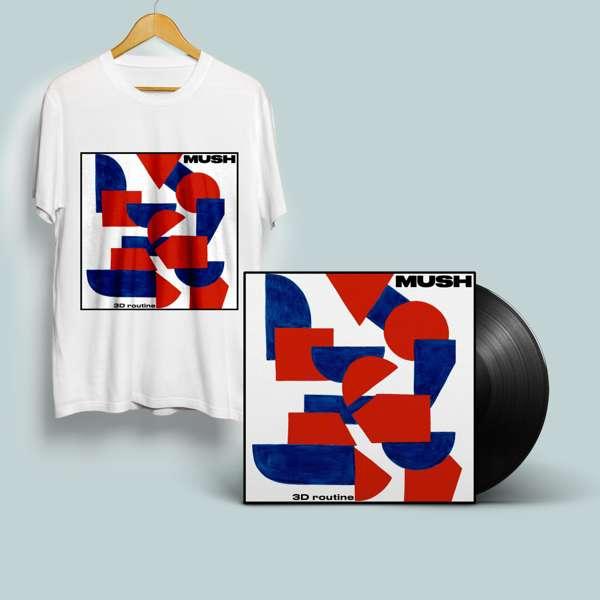 3D Routine - Standard black vinyl, download and T Shirt - MUSH