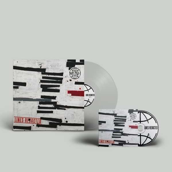 Mush - Lines Redacted - Clear Transparent Vinyl, CD and Download - US - MUSH