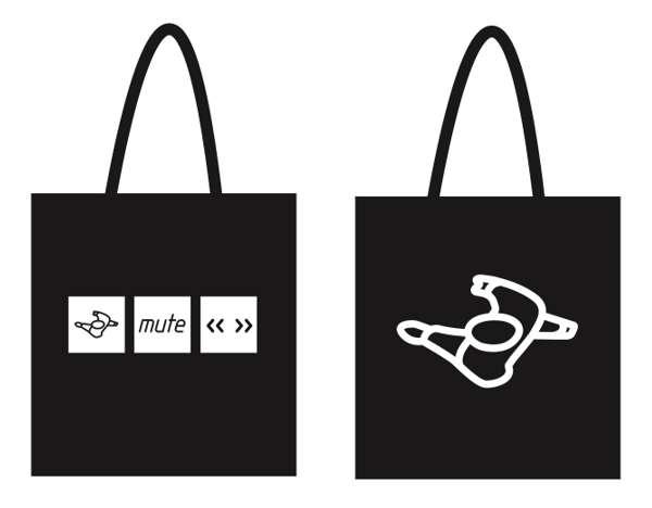 Mute Logo Tote Bag - Mute