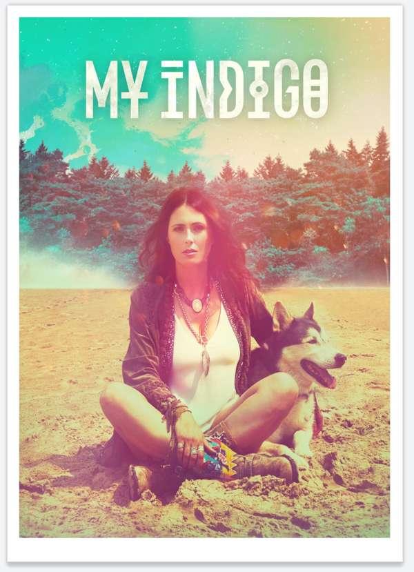 My Indigo - A3 Litho Print - My Indigo