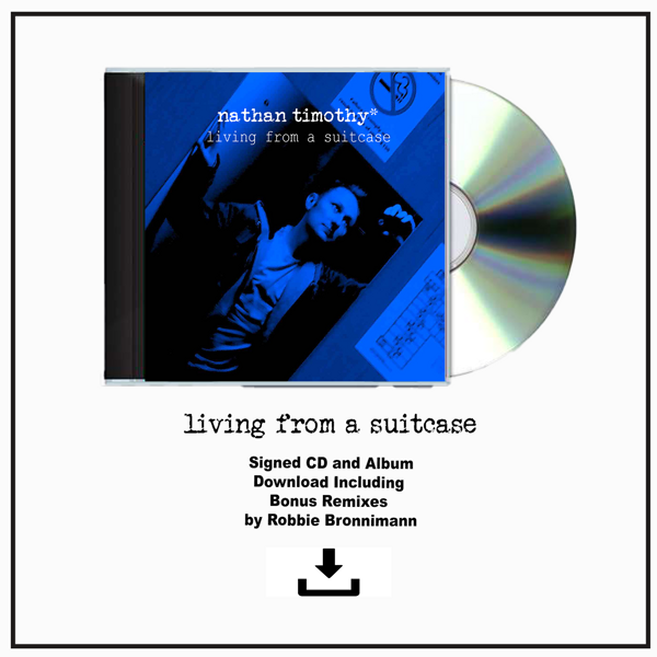 Living From A Suitcase 2019 Version - (CD) and (HQ Digital Download) Bundle - Nathan Timothy