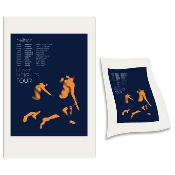 Blue Jumper Teatowel - Neil Finn (products)