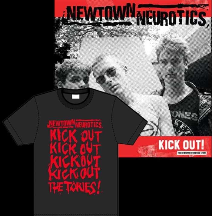 Kick Out! LP & T-Shirt - Newtown Neurotics