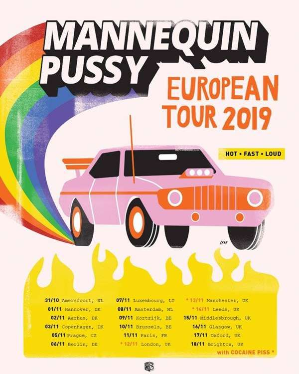 Mannequin Pussy + Shuck + Guests at Nice N Sleazy, Glasgow on 16 Nov 2019