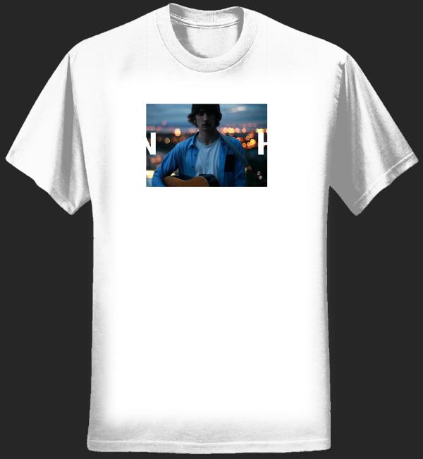 Lights T-shirt (White) - Nick Howe