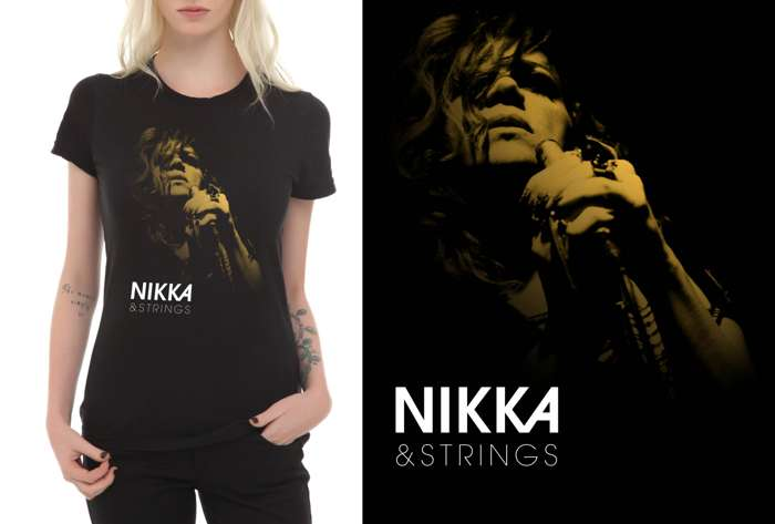 "T-Shirt ""Nikka & Strings"" - Nikka Costa"