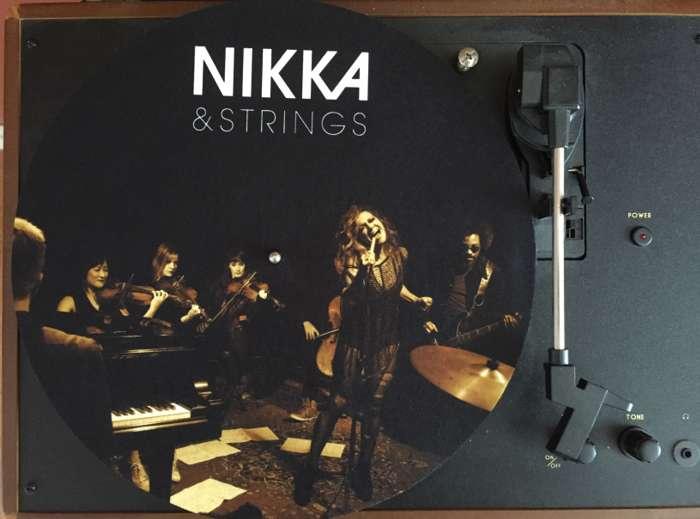 Vinyl Slip Mat - Nikka Costa
