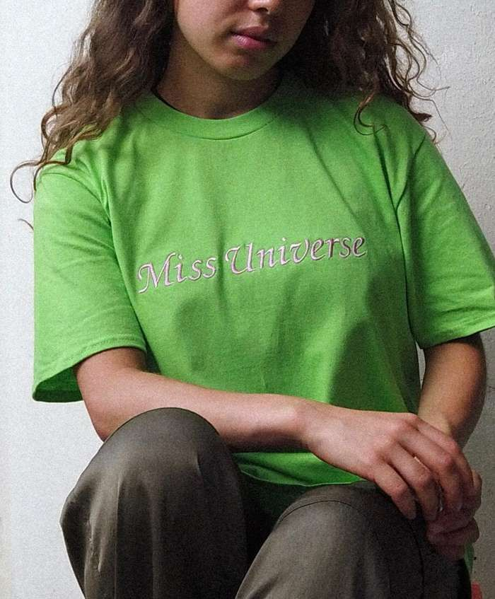 Green Miss Universe T-Shirt - Nilufer Yanya