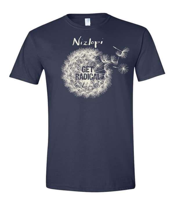 Ladies 'Get Radical' T-Shirt - Nizlopi
