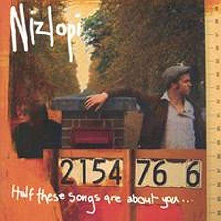 Nizlopi - Half These Songs Are About You (CD) - Nizlopi