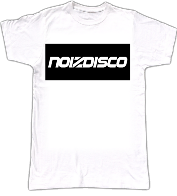 T-shirt: Black Box Logo - Noizdisco