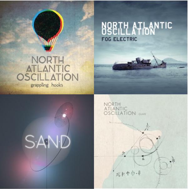 3 album bundle + Free Glare EP - North Atlantic Oscillation