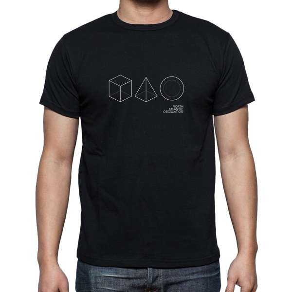 The Third Day - Logo Tee (BLACK) - North Atlantic Oscillation