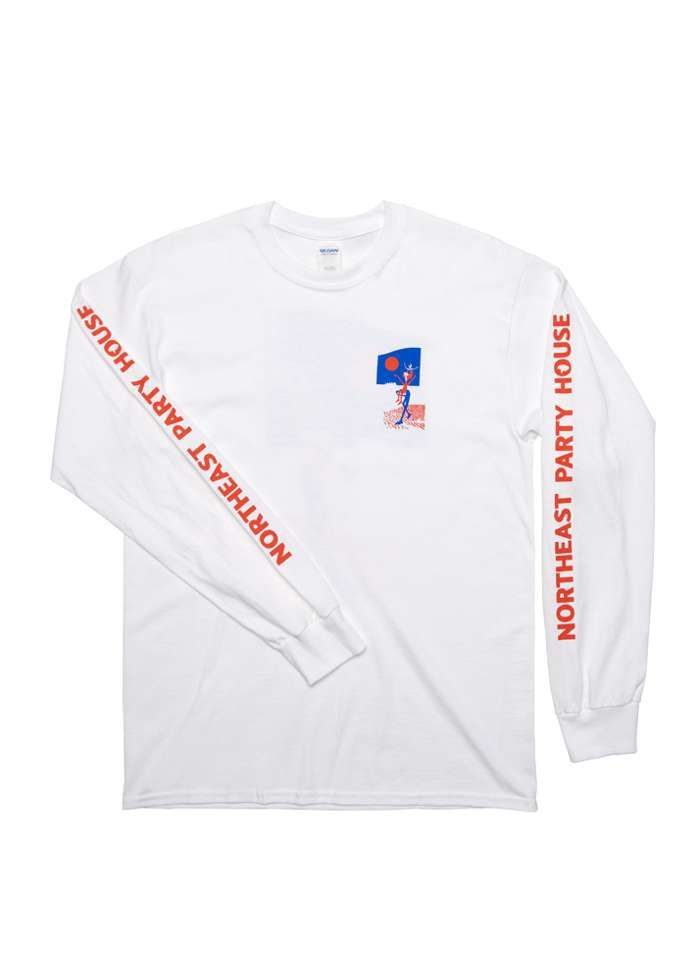 Calypso / White Longsleeve - Northeast Party House