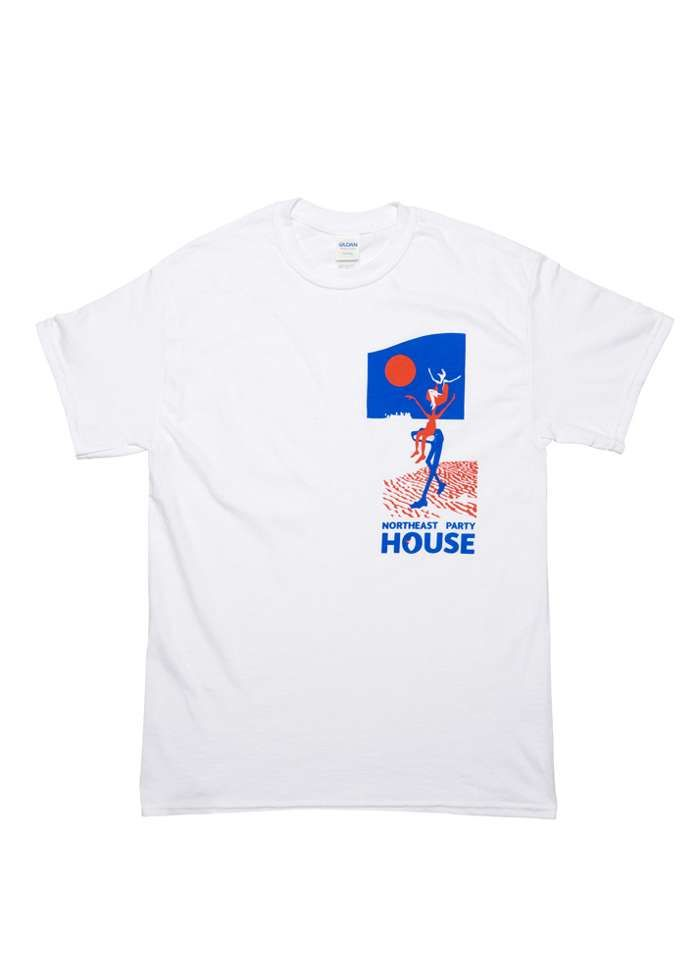 Calypso / White T-Shirt - Northeast Party House