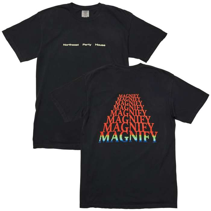 Magnify T-Shirt (Black) - Northeast Party House