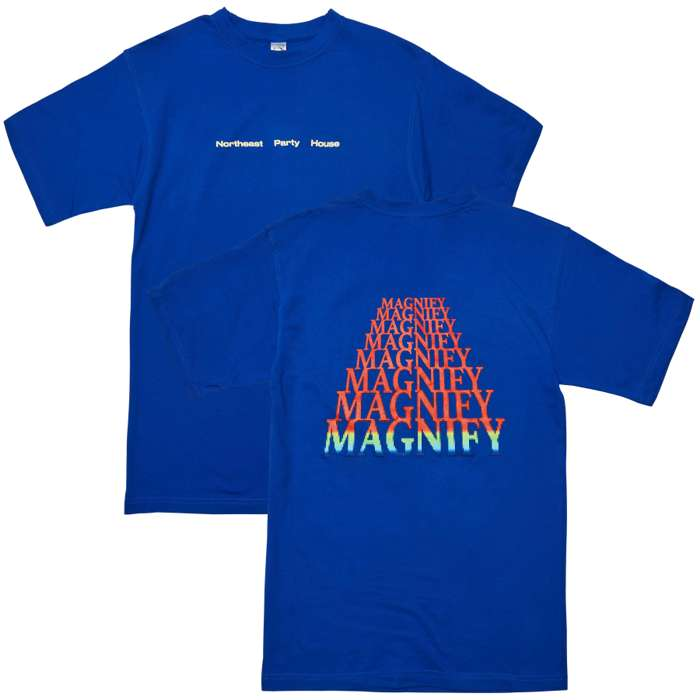 Magnify T-Shirt (Blue) - Northeast Party House