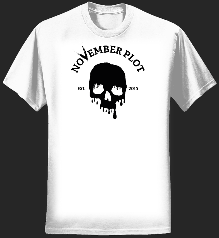 Dripping Skull Shirt – Mens - NOVEMBER PLOT