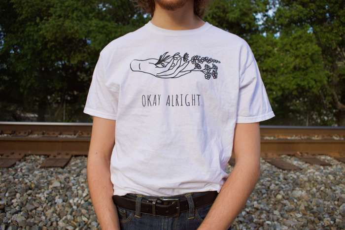 Flowers T-Shirt - Okay Alright