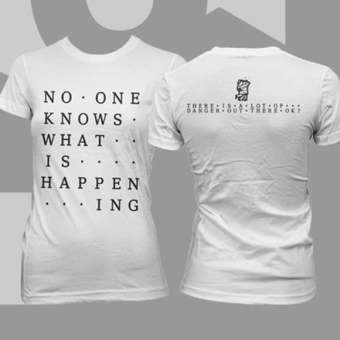 65daysofstatic -  No One Knows Skinny T-Shirt - Omerch