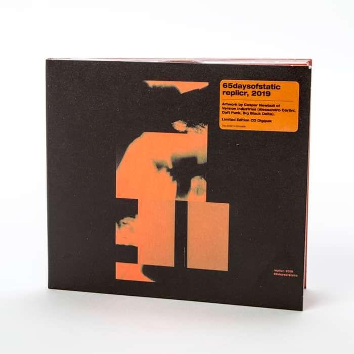 65daysofstatic - 'replicr, 2019' Ltd. CD Digipak - Omerch