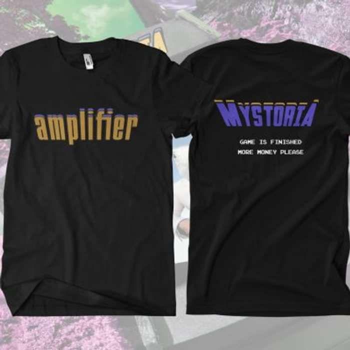 Amplifier - 'End' T-Shirt - Omerch