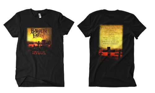 Barren Earth - Curse of the Red River T-Shirt - Omerch