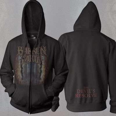 Barren Earth - Devil Hooded Sweatshirt - Omerch