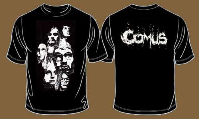 Comus - Cluster T-shirt - Omerch