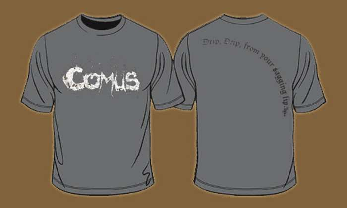 Comus - Lyrics T-shirt - Omerch