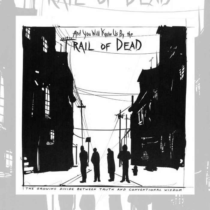 ...And You Will Know Us By The Trail Of Dead -  'The Growing Divide Between Truth And Conventional Wisdom' Vinyl - Omerch