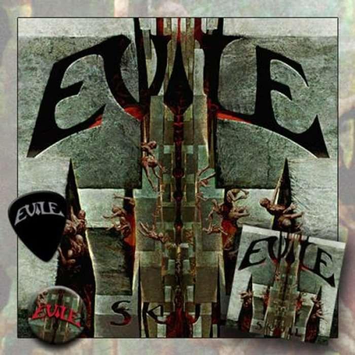 Evile - 'Skull' Vinyl - Omerch
