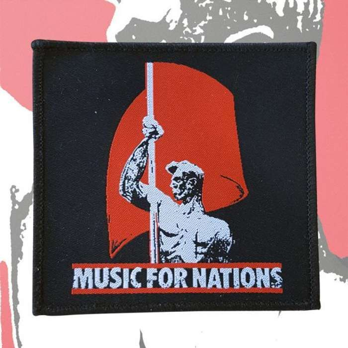 Music For Nations  - 'Flagman' Patch - Omerch
