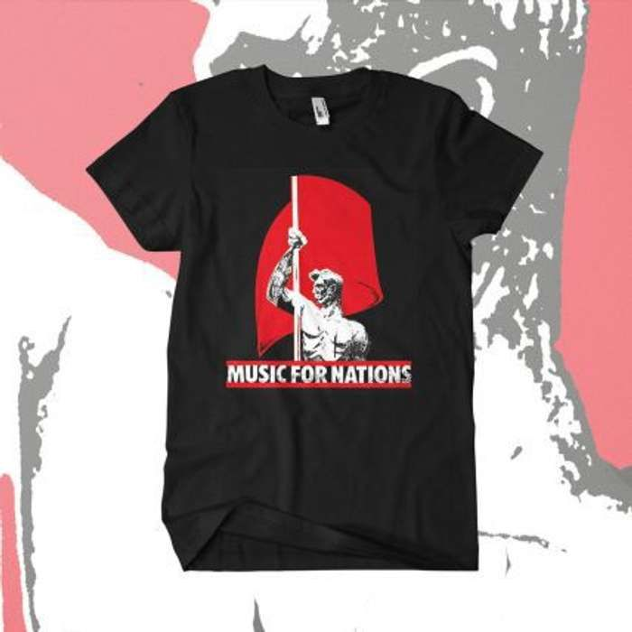 Music For Nations  - 'Flagman' T-Shirt - Omerch
