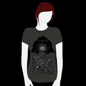 Oceansize -  Drew Millard Lighthouse Fitted T-Shirt - Omerch