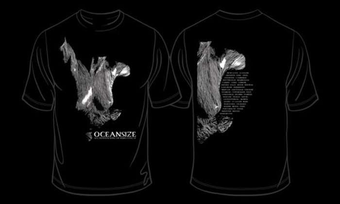 Oceansize -  Self Preserved Tour T-Shirt - Omerch