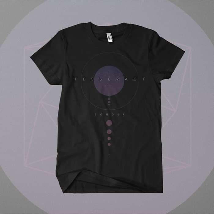 Tesseract - 'Sonder' Black T-Shirt - Omerch