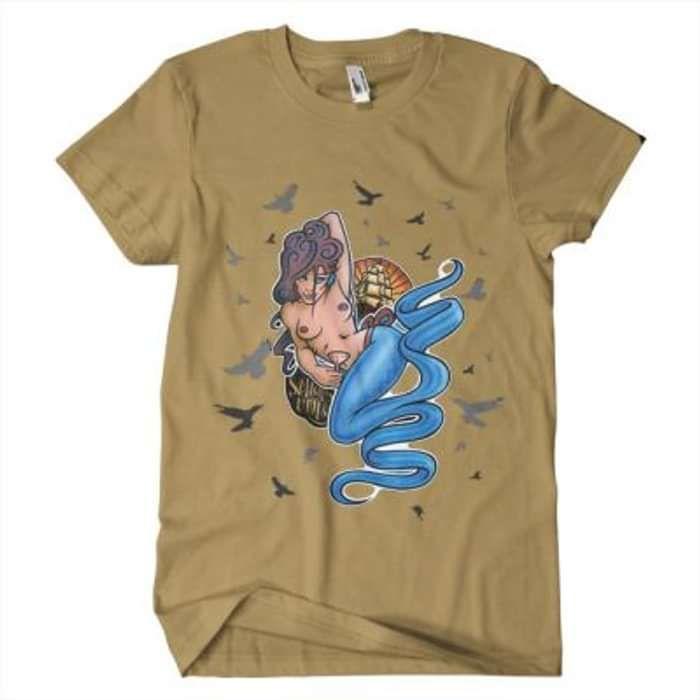Wreak Havoc - Sailors Ruin Brown T-Shirt - Omerch