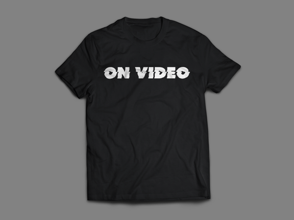 On Video Glitch Logo t-shirt - On Video
