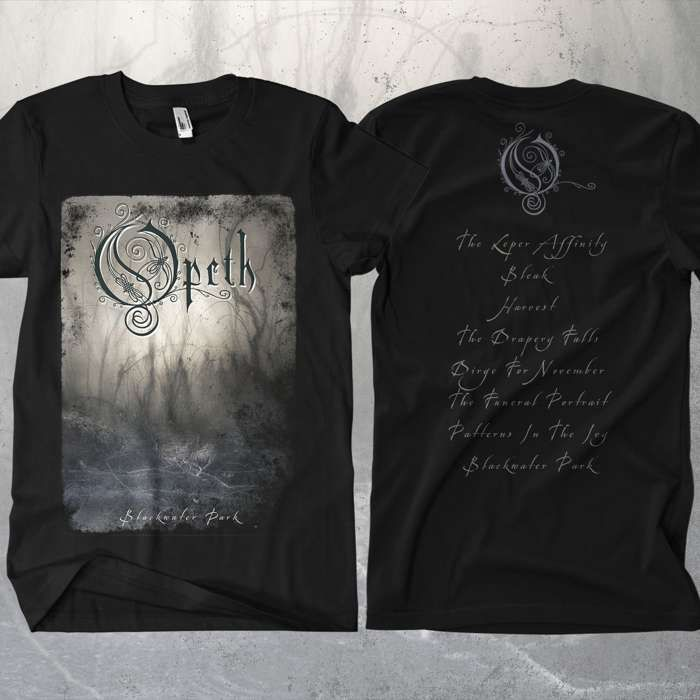 Opeth - 'Blackwater Park' T-Shirt - Opeth US
