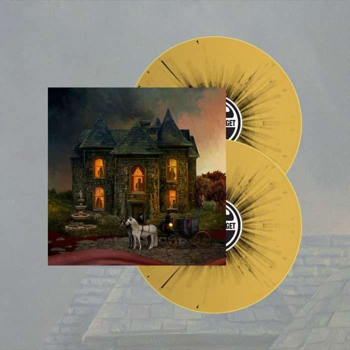 Opeth - 'In Cauda Venenum' Yellow Swedish Version LP - Opeth US