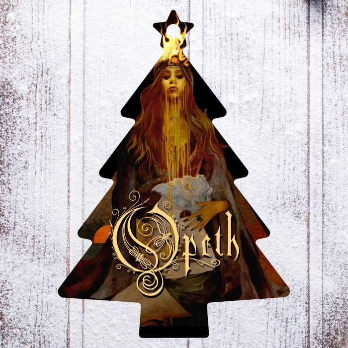 Opeth - 'Tree' Wooden Christmas Decoration - Opeth US