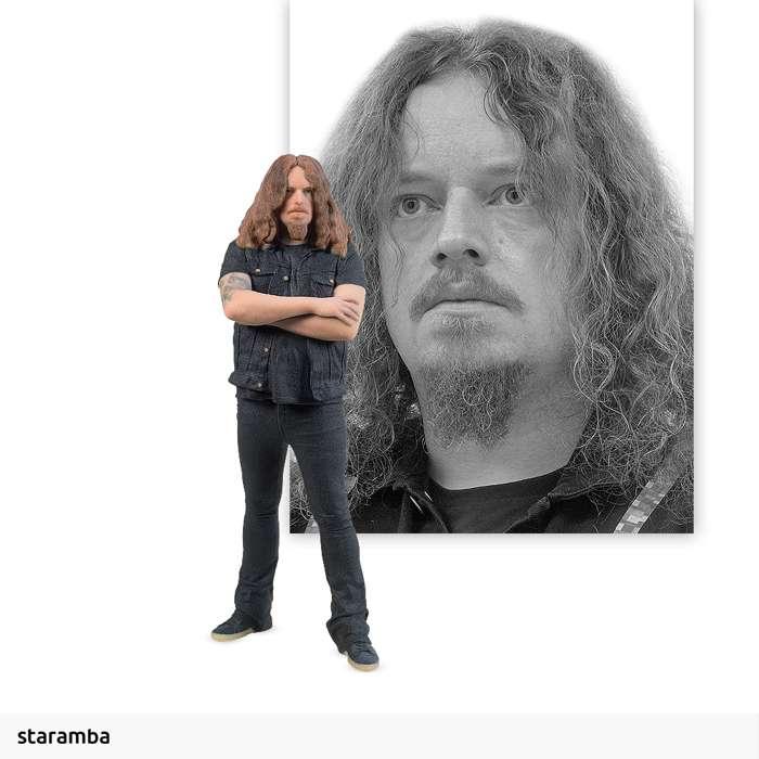 Frederik Akesson - 7cm 3D Printed Figure - Opeth