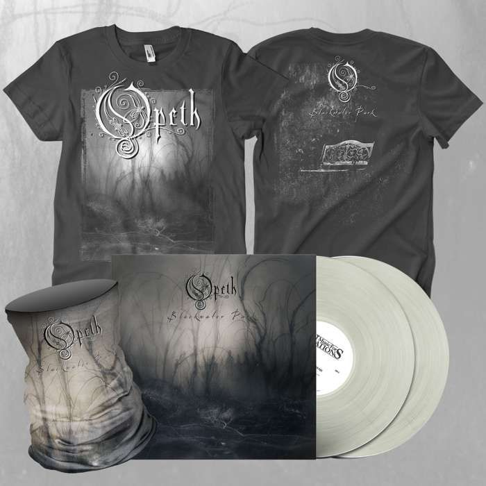 Opeth - 'Blackwater Park' 2LP *EXCLUSIVE* Transparent Vinyl + T-Shirt & Snood Bundle - Opeth