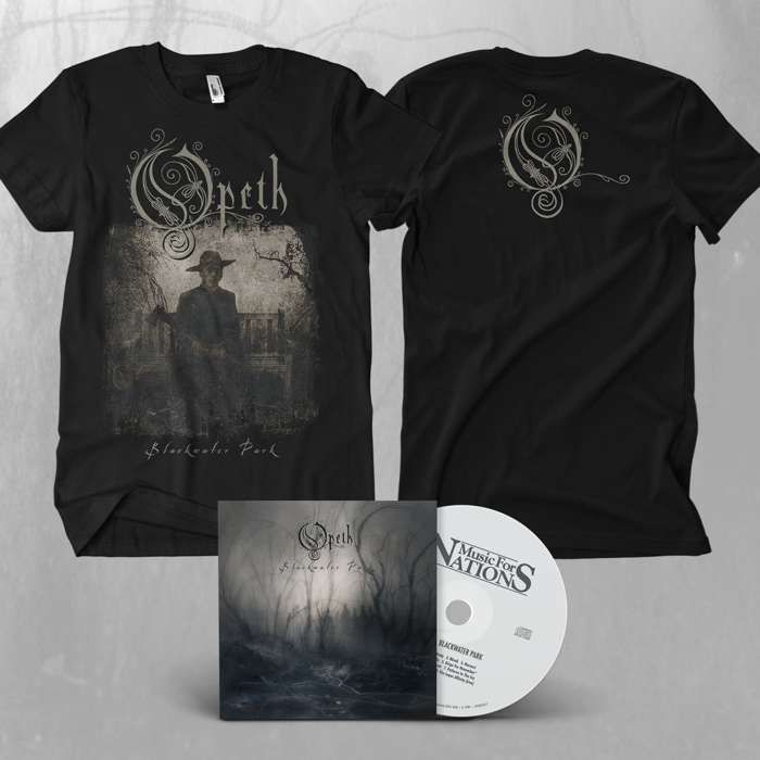 Opeth - 'Blackwater Park' Deluxe CD + T-Shirt Bundle - Opeth