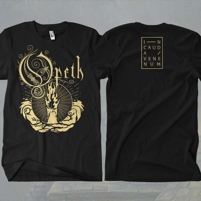 Opeth - 'Candle' T-Shirt - Opeth