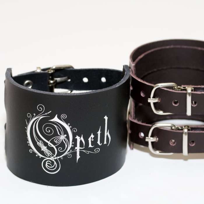 Opeth - Double-strap Leather Wristband - Opeth