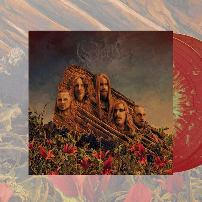 Opeth - 'Garden Of The Titans (Opeth Live at Red Rocks)' *EXCLUSIVE* 2LP Red/Green Splatter Vinyl - Opeth