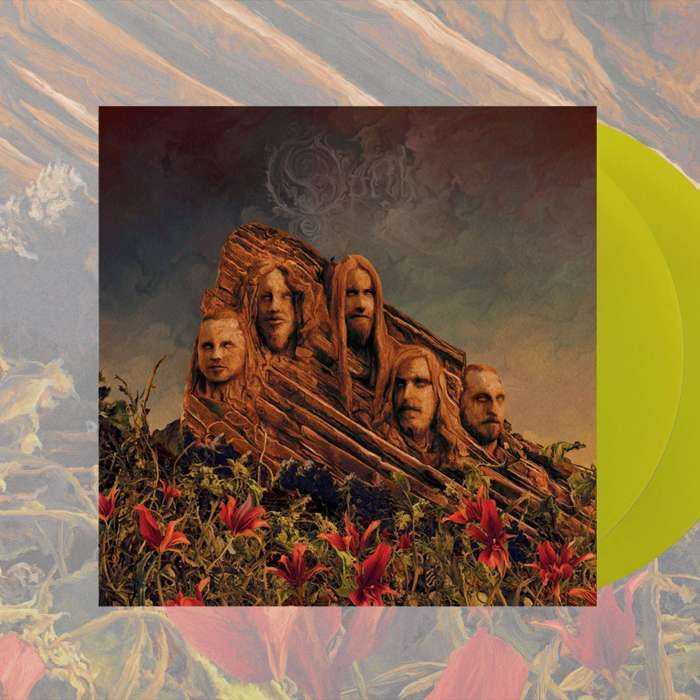 Opeth - 'Garden Of The Titans (Opeth Live at Red Rocks)' *EXCLUSIVE* 2LP Transparent Yellow Vinyl - Opeth
